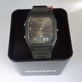 SKMEI 1604 Full Black Original waterresist jam tangan malang free cod