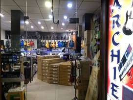 Salesman required for Guitars' Showroom