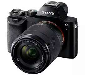 Kamera Sony A7+