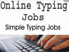 Simple typing jobs are available for efficient work in Pakistan.