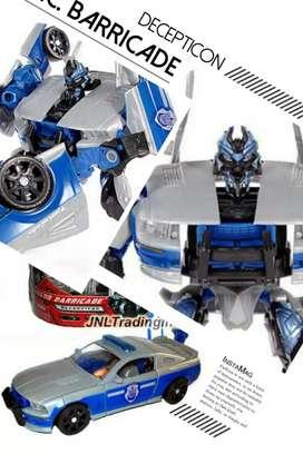 Robot Transformers TFTM Decepticon R.Barricade - Deluxe Class - Hasbro