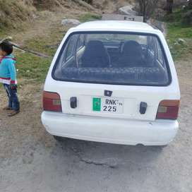 Mehran car CNG and petrol fitted in good condition
