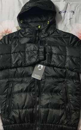 Replay hooded self print Jacket