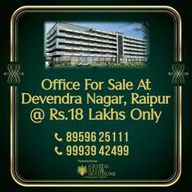 Only Rs.18 Lakhs Office at Devendra Nagar Raipur