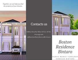 Bintaro - Cluster Mewah Di Bintaro, Boston Residence Bintaro