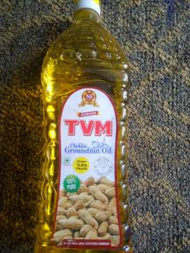 TVM 100% pure Groundnut oil 200rs Vellore Vallalar