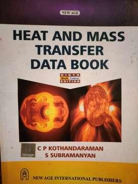 DATA BOOK(Heat and mass transfer)