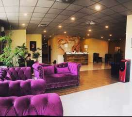 Space available for gym/spa