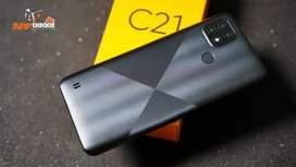Realme C21 4/64 New Segel Free Kuota 31,5GB 040