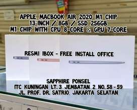 Free Office-Apple Macbook Air 2020 M1 Chip 256GB(iBox) - Info bs Chat