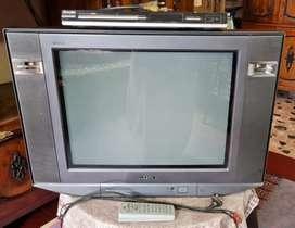 SONY TRINITON TV WITH ACCESSORIES
