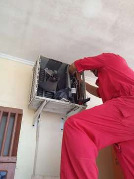 menerima service AC,kulkas,dan mesin cuci bergaransi