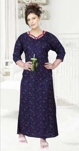 Women nigth wear fabric Alpine