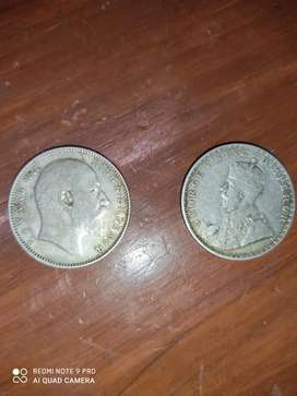 114 years old silver coin