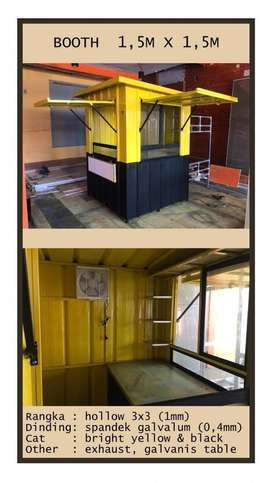 booth Container Murah banget