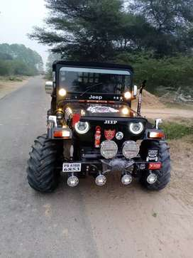 Hunter jeep modifaid