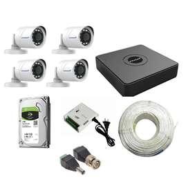 PRAMA 2MP CCTV Camera Full Set With Installation
