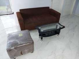 Sofa tamu satu set baru 1 tahun