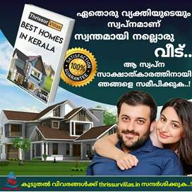 Brand New House for sale in Thrissur