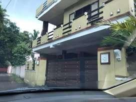 Aluva kochinbank 3bhk house  for rent 12000