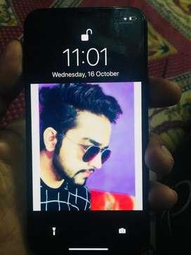 Iphone X black 64Gb 1 year old