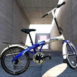 Sepeda lipat exotix