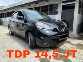 Nissan New March 1.2 Matic 2014 Hitam Super Mulus | KM 75RB