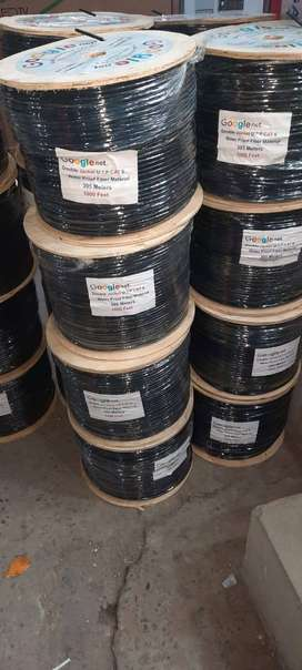 Double PVC CAT-6 cable availble at Network Zone