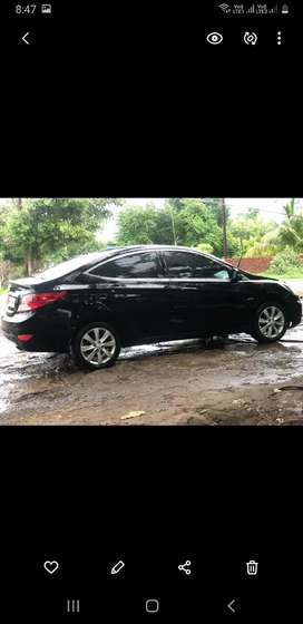 Hyundai Verna 2012 Petrol 75000 Km Driven