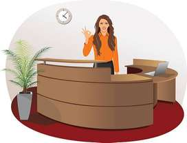 Receptionist job in phase 7, Mohali,