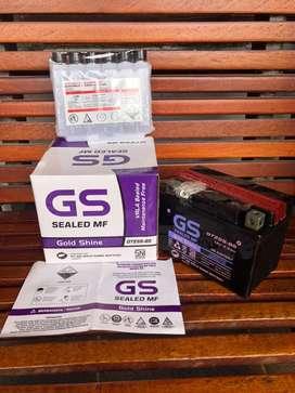 AKI GS Gold Shine GTZ5S-BS