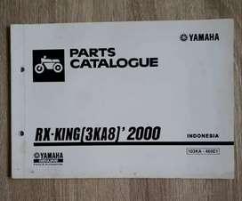 Yamaha RX King 3KA8 -2000- Parts Catalogue Original