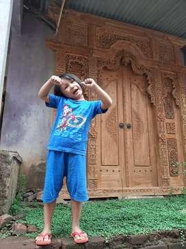 kasin pintu gebyok gapuro jendela untuk rumah gedung masjid musholla