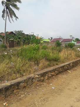 Tanah siap bangun di belakang telkom wayhlim bandar lampung