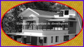 5.5 cents, 3 bhk, 1800 sq.ft house near Chevayur