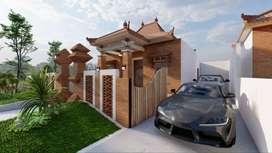 Rumah Mewah Desain Elegan Limasan Klasik di Lokasi Premium Prambanan