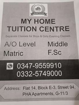 Home Tuition Centers