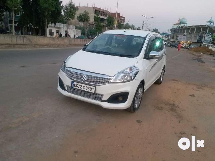 Maruti Suzuki Ertiga SHVS ZDI Plus, 2016, Diesel 0