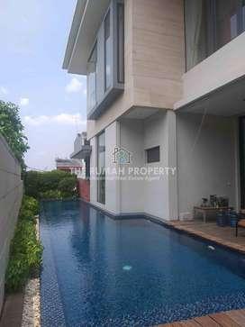 Sewa Rumah Mewah Private Pool di Jalan Keuangan Cilandak