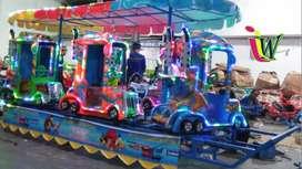 odong odong kereta mini wisata lampu hias komedi safari tayo fiber EK