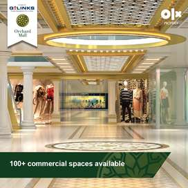 222 Sq Ft, Facing Lobby Shop on Installments in Orchard Mall Lahore