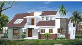BRAND NEW VILLA IN in 18 cent land in 7 KM from Athani- Kochi airport