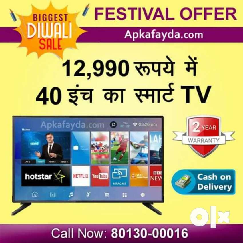 "40"" Smart led TV android sale Offer 0"