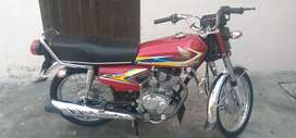 Honda 125 well condition