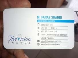 The Vision Travel (PVT) Ltd Gives Visas & Tickets