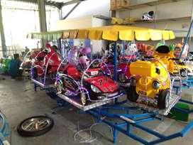 Kereta mini odong odong mini coaster RAA