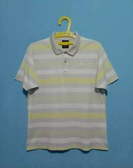 Kaos kerah Adidas original size fit to M/L good condition