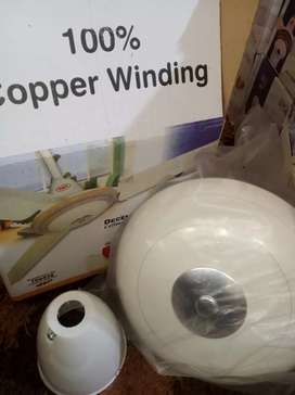 """Ceiling fans 56"""" full size deluxe model with 1yr warranty"""