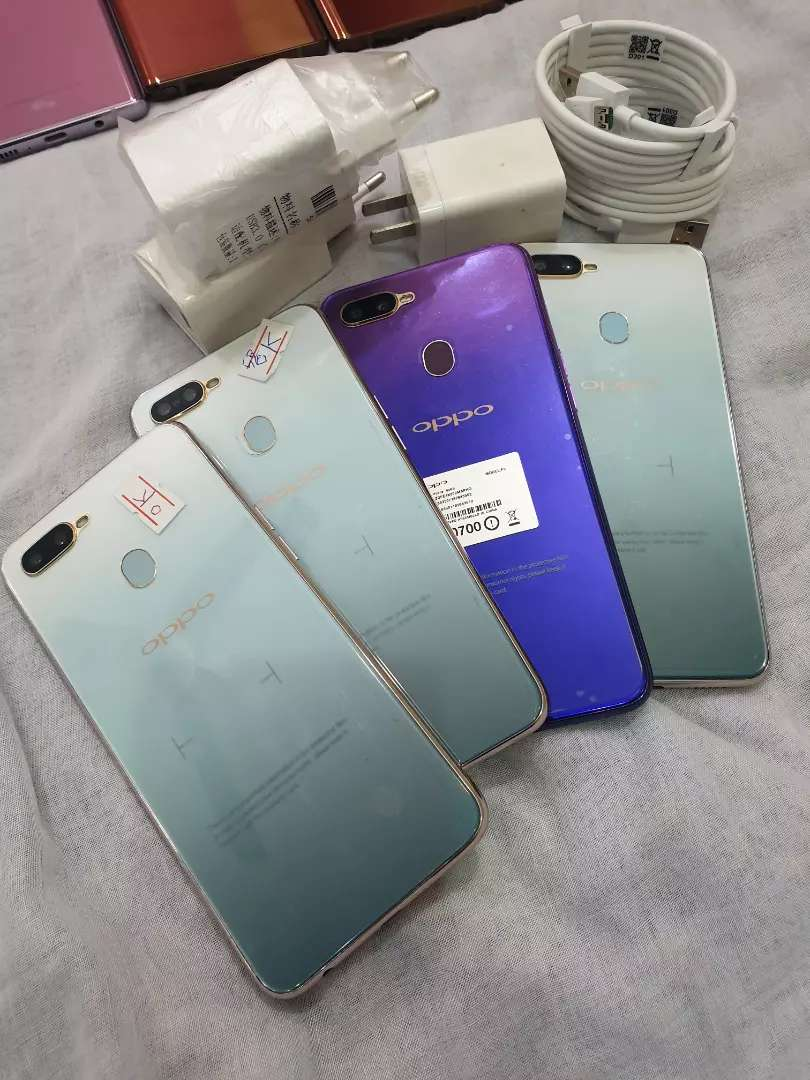 Oppo F9 pro 6gb 64gb 10/10 brand new and voc fast charger 0