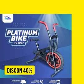 sepeda statis platinum bike total fitnes CT-77